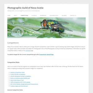 Photographic Guild of Nova Scotia Competitions