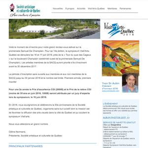 Symposium Visit'Arts Quebec
