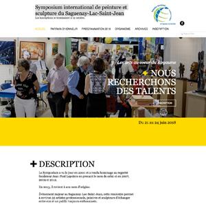 Symposium international de peinture et sculpture du Saguenay-Lac-Saint-Jean