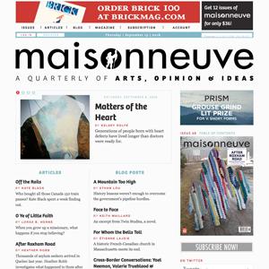 Maisonneuve Magazine Montreal
